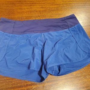 Lululemon run shorts